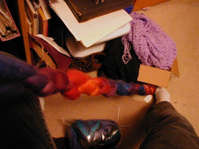 Roving in knots!