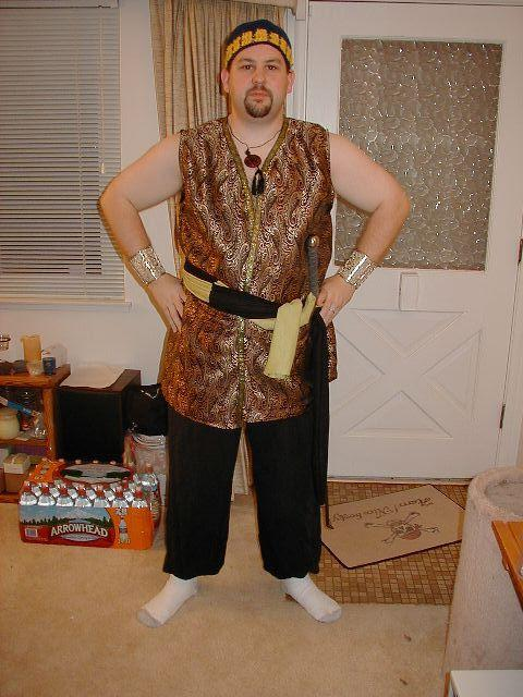 Timur the blacksmith - Costume for The Camel in Summer LARP.